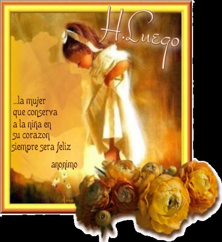 Nena con Frase 703234hastaluego