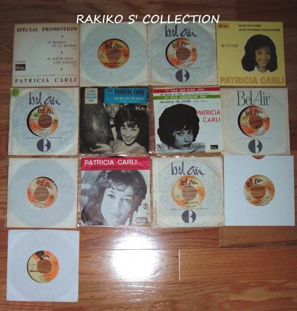Rakiko  s' music collection  45 rpm & 33 rpm and more 705703CarliFrenchjukeboxsp