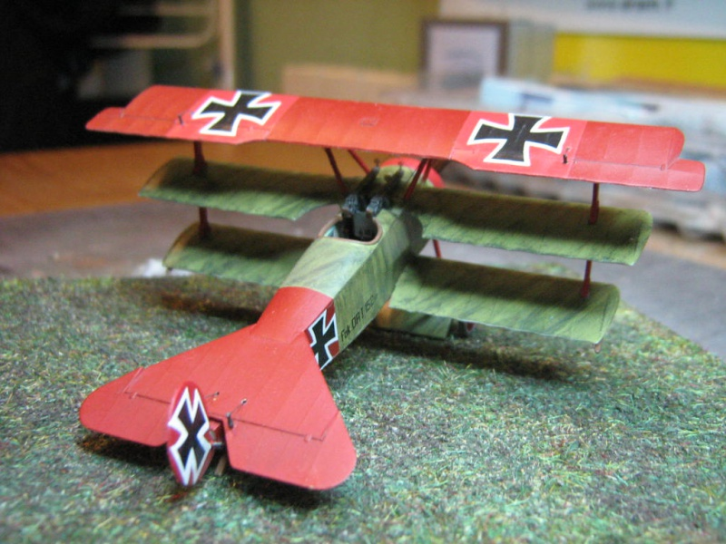 Fokker Dr I 152/17 Rittmeister Manfred von Richthofen [Eduard 1/72] 706433IMG0289