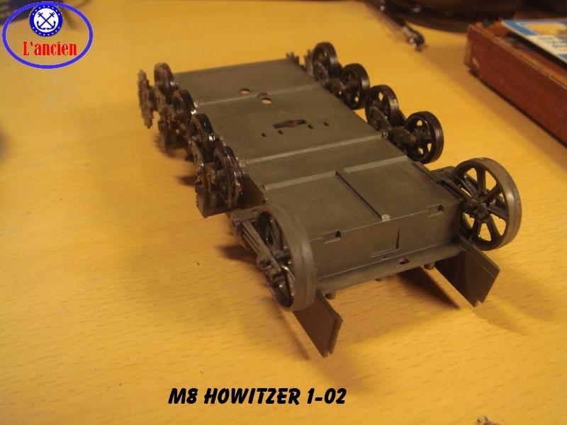 M8 US Howitzer  au 1/35 par l'ancien 706820m8102