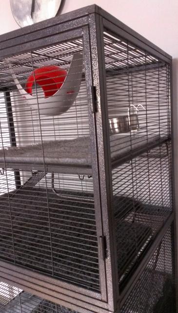 A vendre : Extension 163 Cage Critter Nation Midwest pour la 161 707873Etagevueprofildroit
