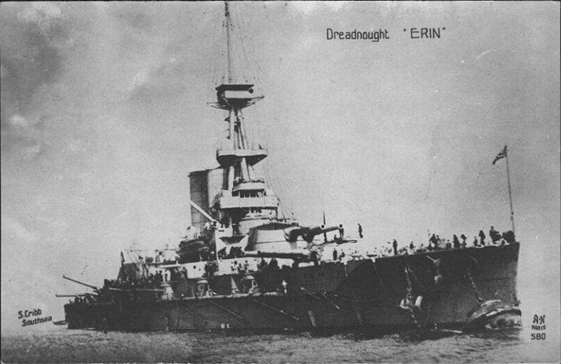 ROYAL NAVY CUIRASSE HMS ERIN  708634500175