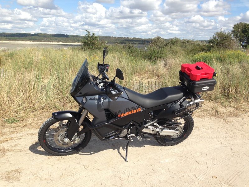 KTM 990 ADV 2007 Black dans le Nrd 711388photo1