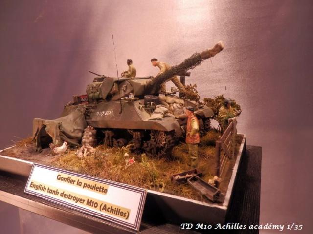 dio un achilles en Normandie terminé académy 1/35,figurines miniart 713779PA070007