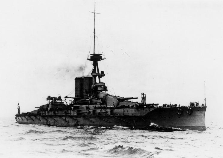 ROYAL NAVY CUIRASSE HMS ERIN  71423301hmserin1917