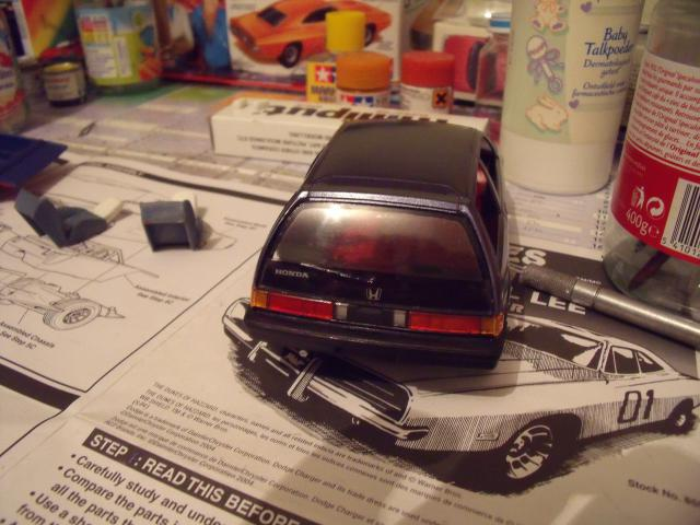 Honda Civic 1,5L GL de 1987. 714436MaTitineenmaquette053