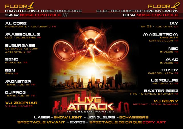 LE 05/02/2011 LIVE ATTACK interlude PART 1 717033FlyerVersoHDCMJNjpg