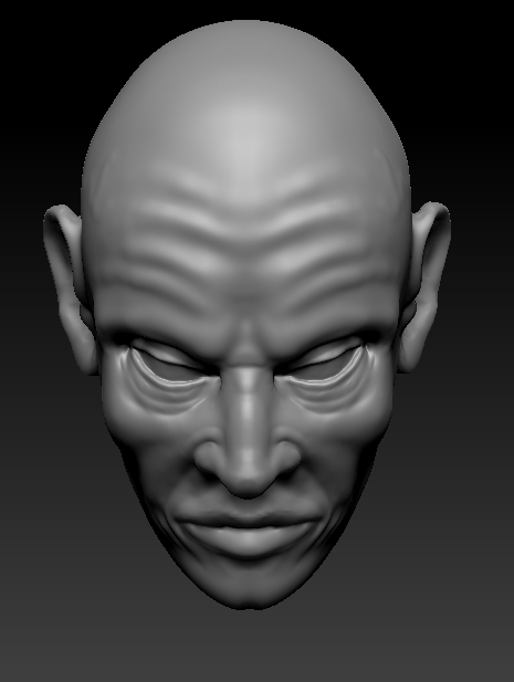 3D with Zbrush. 717749visagefacepenchverslebas