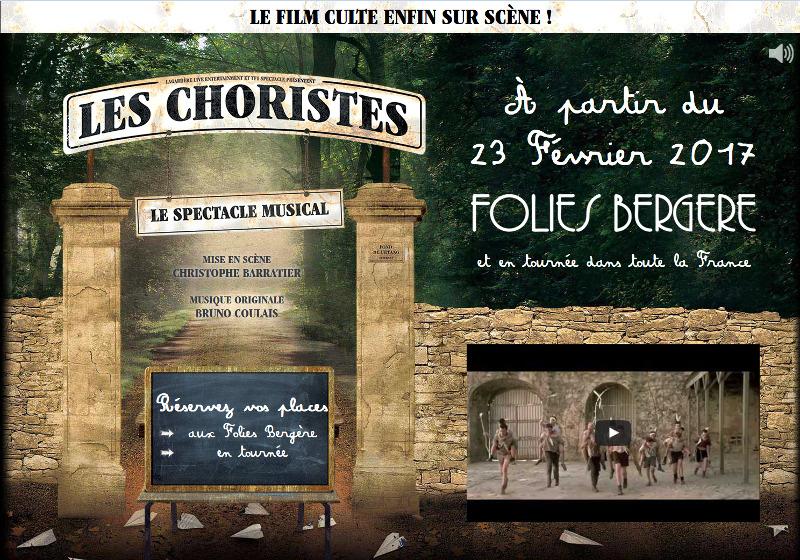 """Comédie Musicale """"Les choristes"""" à Paris puis en tournée, en 2017. 719809Choristescomediemusicale"""