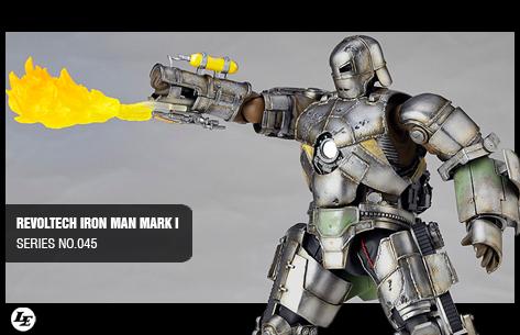 [Kaiyodo] Revoltech Iron Man Mark I - SERIES No.045 720364marki