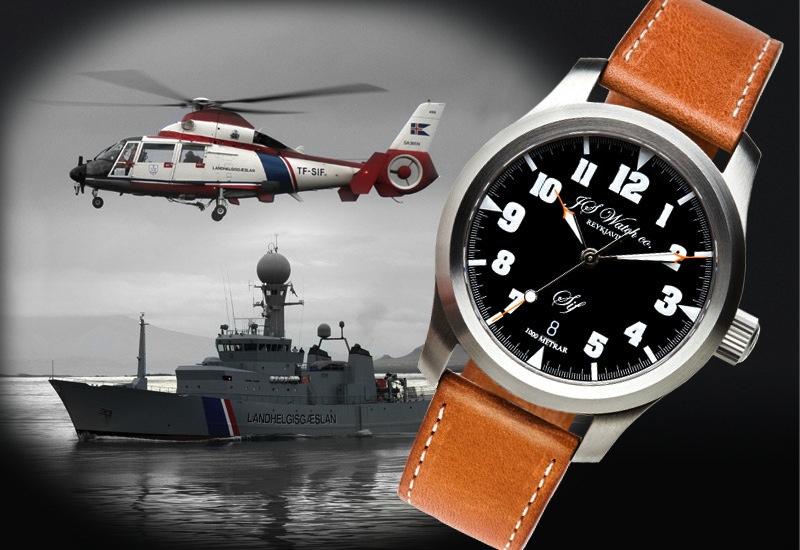 J S Watch company REYKJAVIK 720938SIF