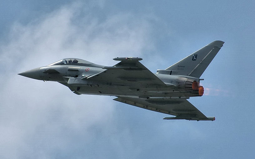 BOEING F/A-18E et F SUPER HORNET  722684EurofighterTyphoon