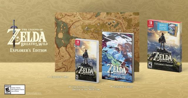 [2017-11-23] The legend of Zelda Breath of the wild - Explorer ed 723514zeldabreathexplorerswt