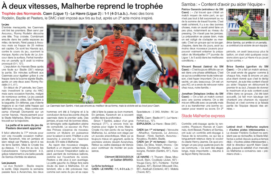 Reprise - Matchs Amicaux 2017/2018 - Page 3 723523amical