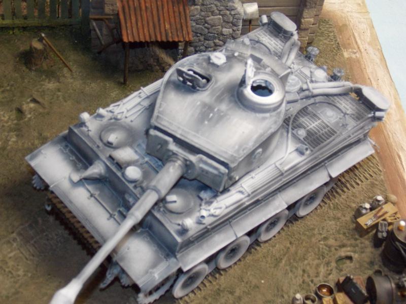 TIGRE S33  avant la bataille de Koursk juillet 43 (Dragon 1/35 dio DIODUMP) - Page 4 727340DSCN4630