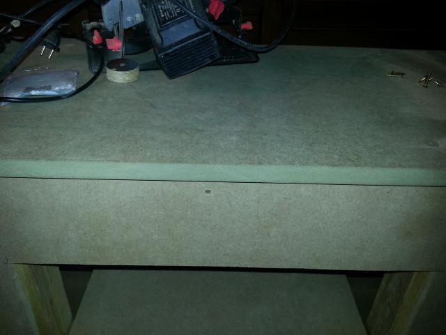 Construction d'un meuble en Chevrons de 8x8 pour bac 200cm 728662IMG20131208152804