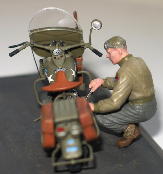 Harley WLA US Army WW2  Miniart 1/35 729971IMG0144