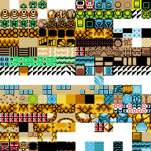 Ressources bgm me et tileset Zelda Oracle 730188TileE