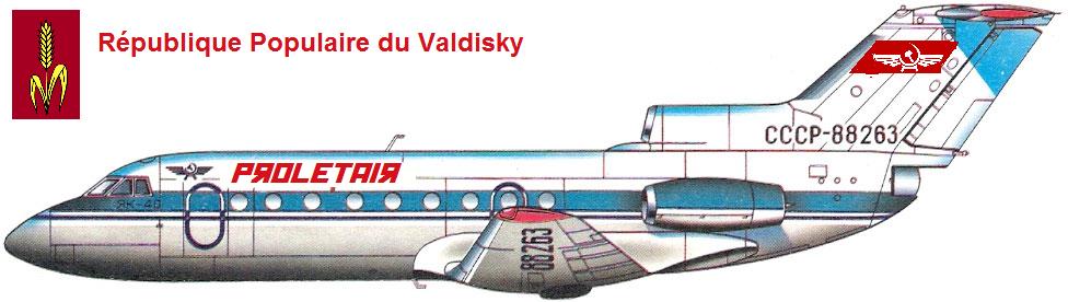 """Compagnie Natioanle du Valdisky : """"Proletair"""" 730715UACV40"""