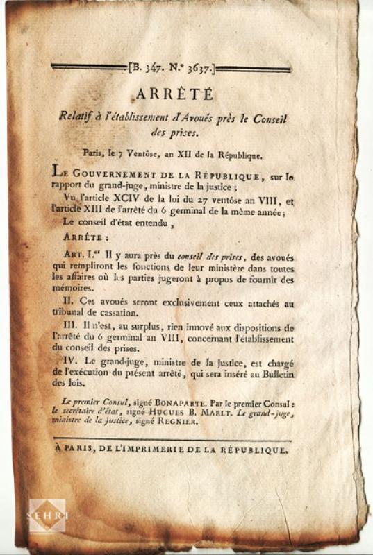 Les corsaires français de 1789 à 1815 731145sehria6341