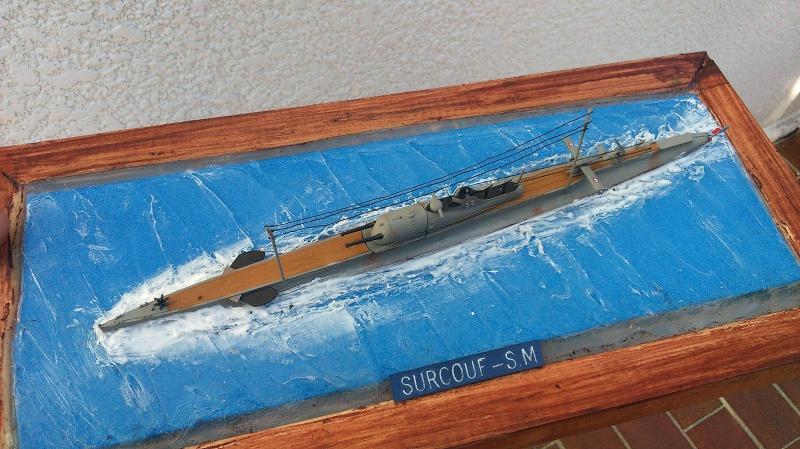sous marin SURCOUF au 1:400 732355DSC1273