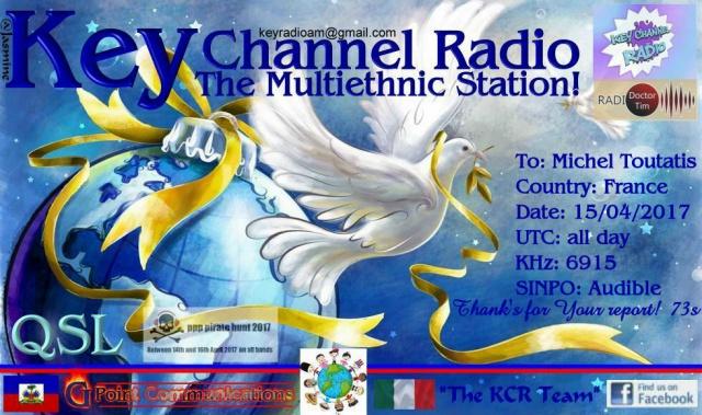 eQSL de KCR 733528KeyChannelRadio