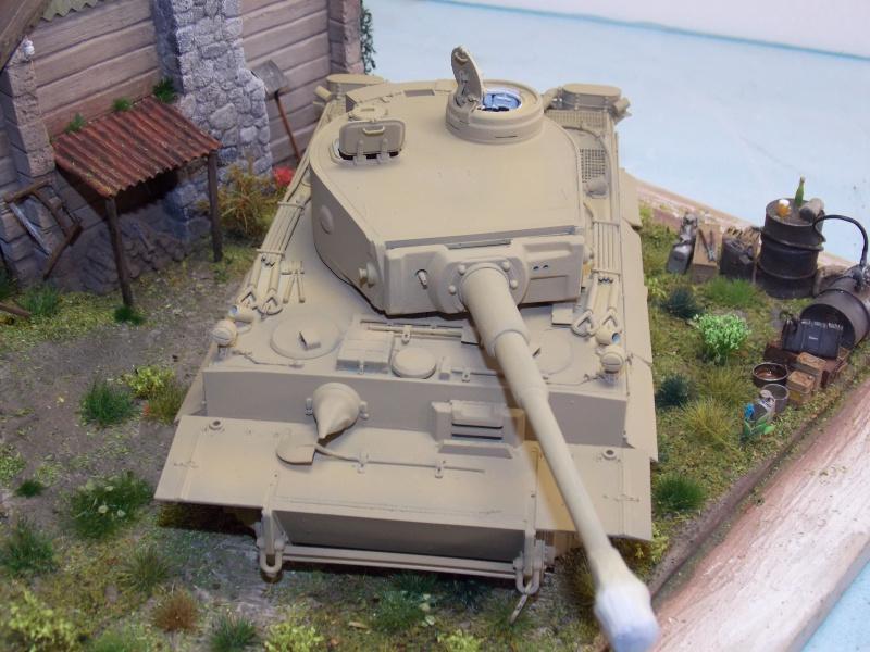 TIGRE S33  avant la bataille de Koursk juillet 43 (Dragon 1/35 dio DIODUMP) - Page 5 735692DSCN4651