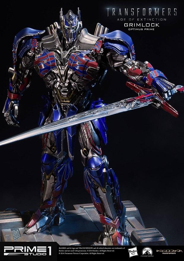 Statues des Films Transformers (articulé, non transformable) ― Par Prime1Studio, M3 Studio, Concept Zone, Super Fans Group, Soap Studio, Soldier Story Toys, etc - Page 2 743340Prime1StudioMMTFM05GrimlockOptimusPrimeStatue321410887635