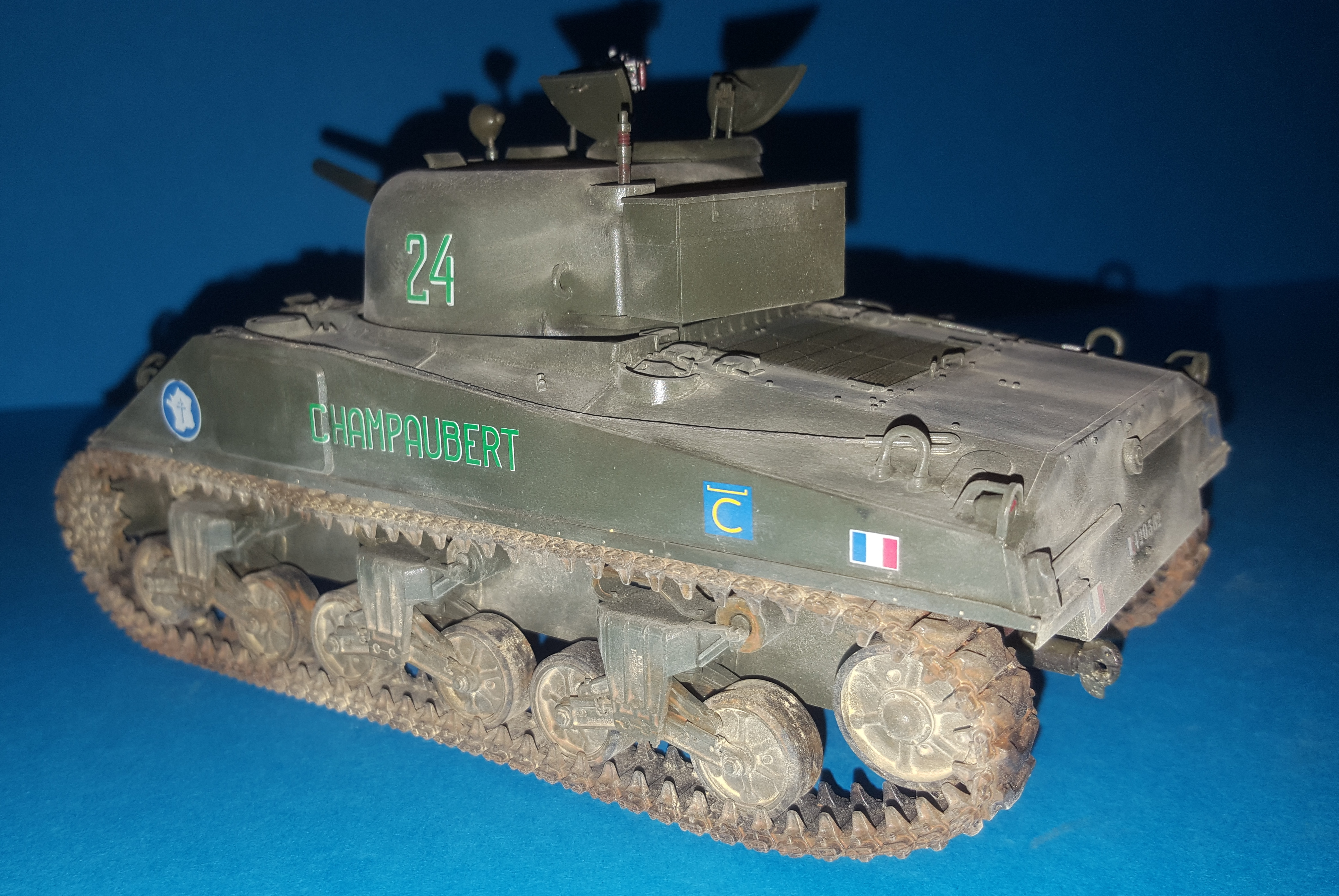 Sherman 1/35ème  Asuka models 74494020170317172311