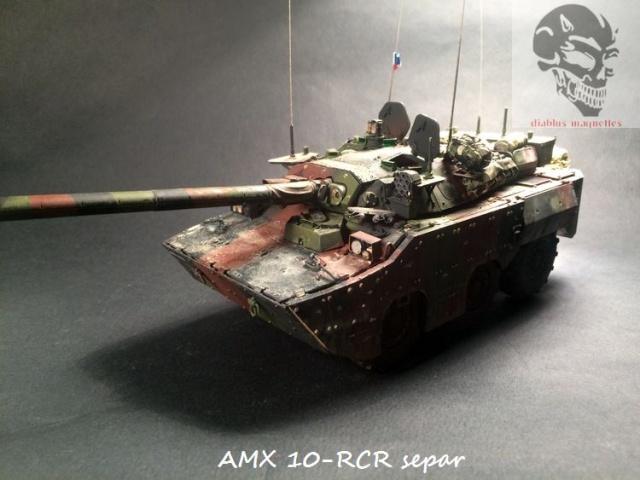 AMX 10 RCR SEPAR maquette Tiger Model 1/35 - Page 3 745142IMG3842