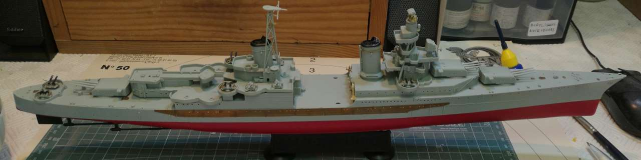 USS Indianapolis 1/350 Academy - 1945 - Page 5 745330Indianapolis59