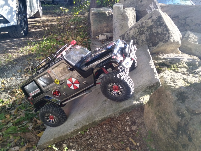axial Scx10 - Jeep Umbrella Corp Fin du projet Jeep - Page 7 746816IMG20161114134215