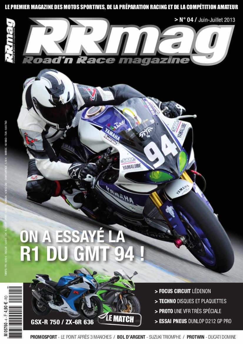 Livre, Magazine, En kiosque, Presse Spécialisée, Canard Moto, Bouquin  - Page 5 749436CouvertureRRMAG4