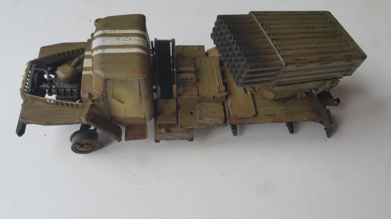 BM-21 GRAD 1/35 TRUMPETER 74998820161110123154