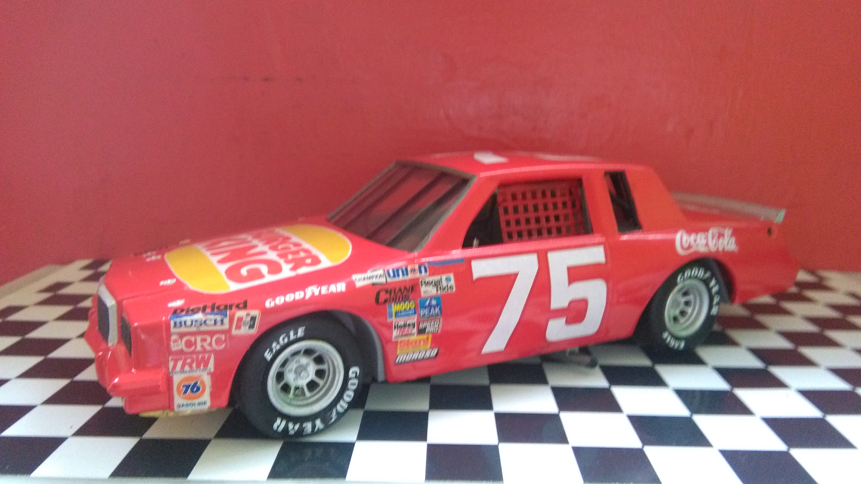 Pontiac Grand-Prix 1985 #75 Dave Marcis Coca-Cola (AMT 1/25) 750098IMG20170506154030