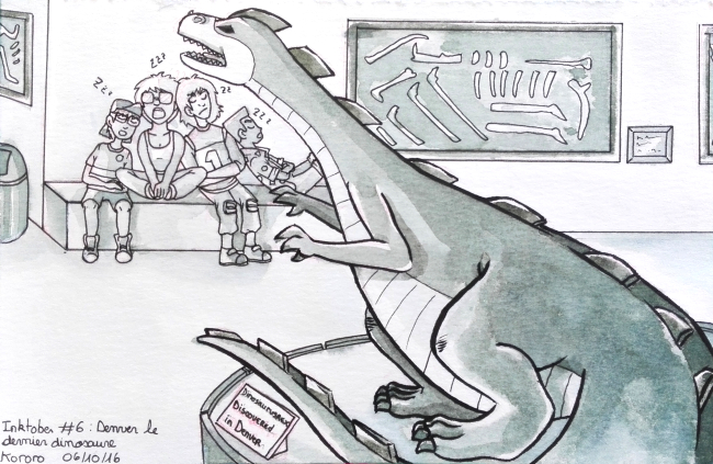 [Terminé] Inktober 2016 - Page 4 751300161006InktoberDenverledernierdinosaure