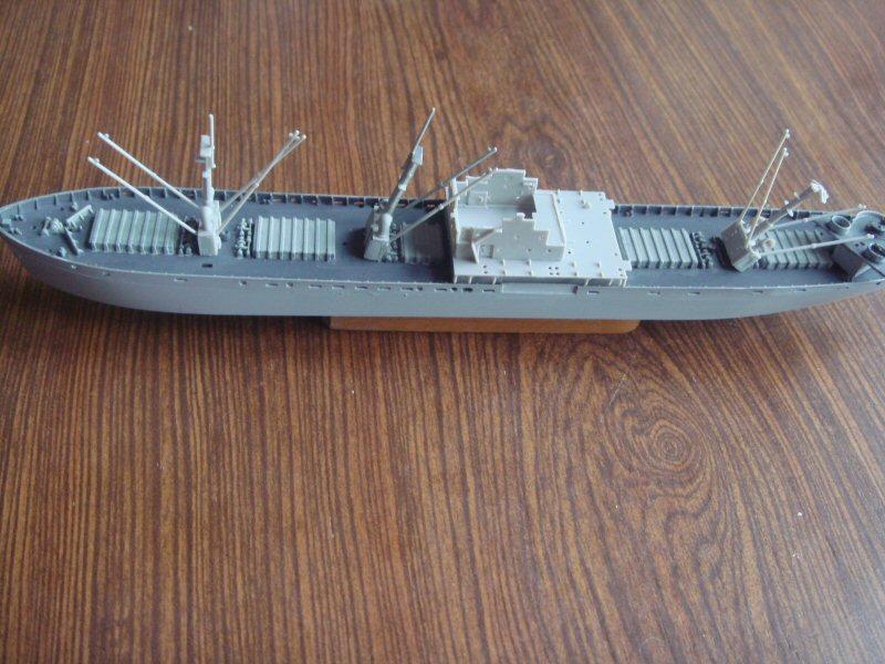 Le SS jeremiah o'brien liberty ship au 1/700 Trumpeter 751335libertyship02