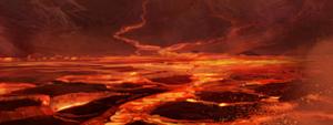 Aire des volcans