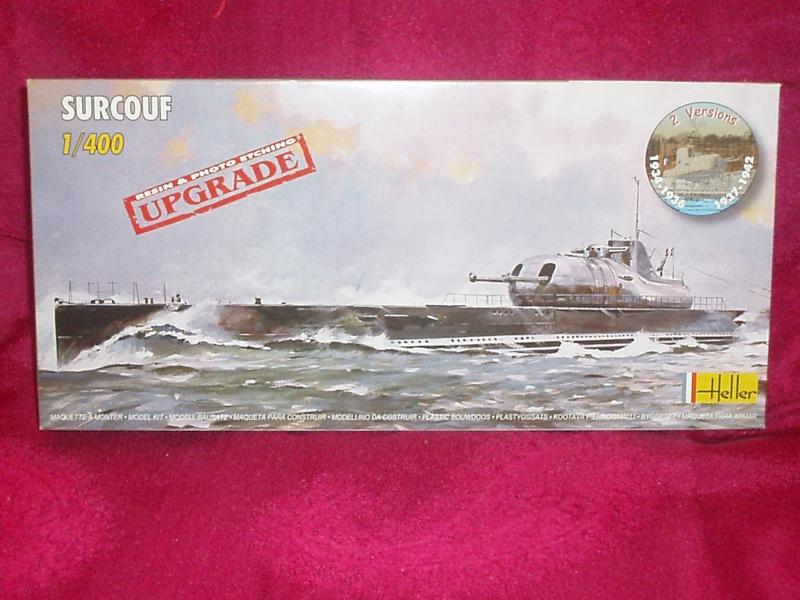 "Sous-marin Surcouf Ech 1/400 version ""upgrade"" 752843Photo073"