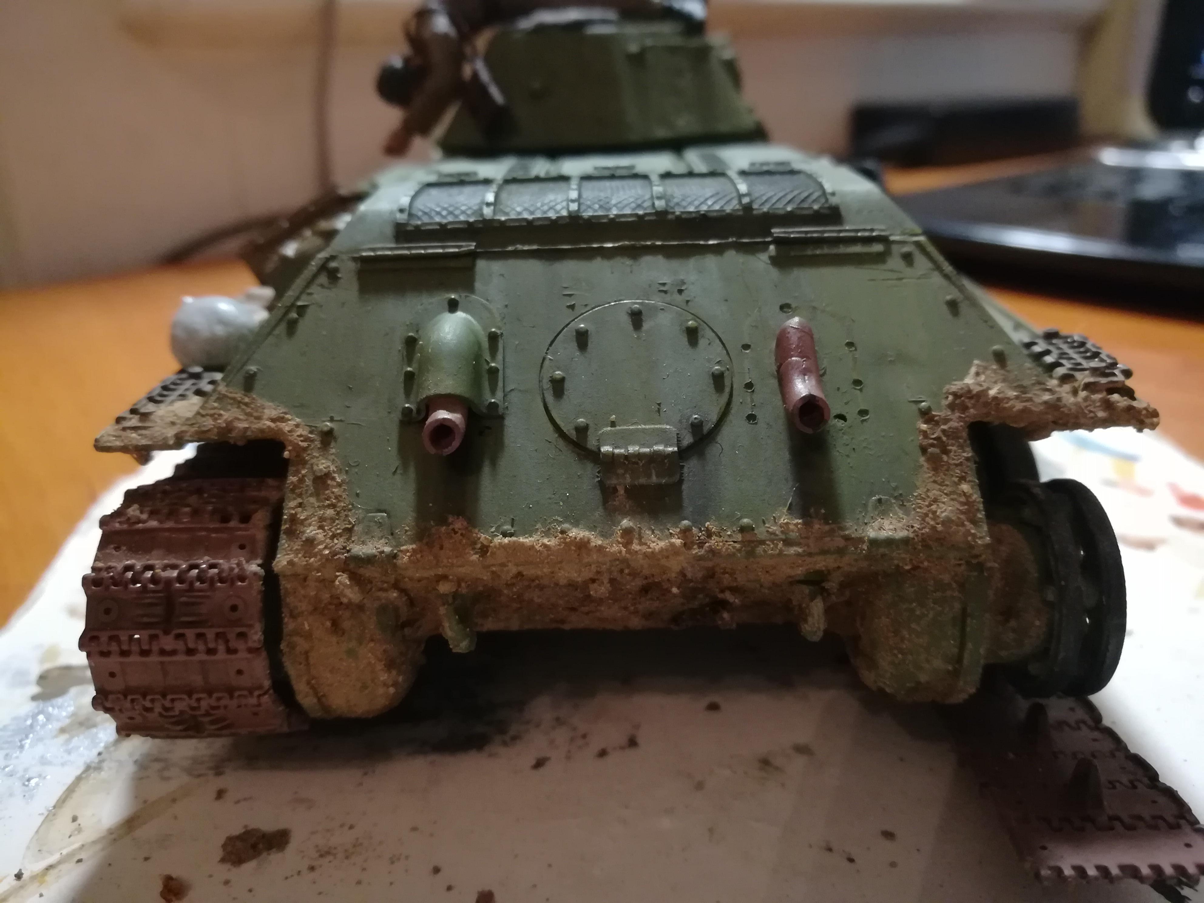 Front de l'Est, 1942 - T34 et Wehrmacht - Zvezda - 1/35 753689IMG20171112180515