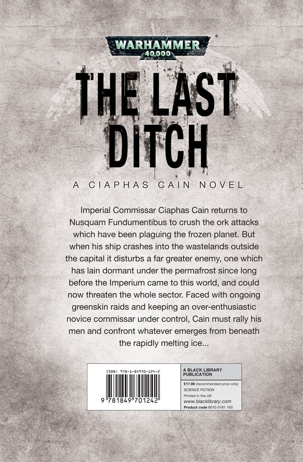 The Last Ditch de Sandy Mitchell. 753724LastDitch