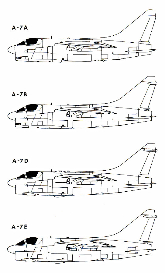 BOEING F/A-18E et F SUPER HORNET  754116VoughtA7CorsairII