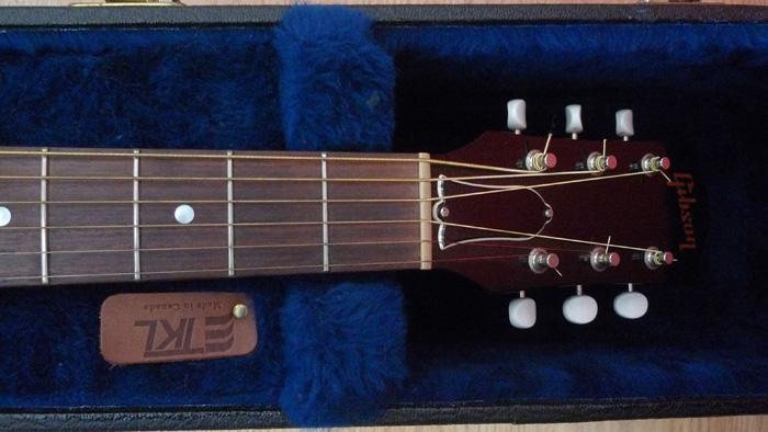 RARE : vds Gibson J-45 wine red +fishman Ellipse 2003 754388Tte