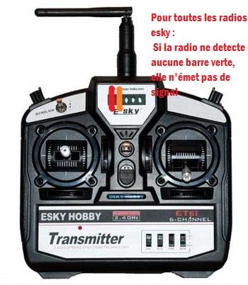 RAdio - Radio esky 6ch led rouge ne s'allume plus 754996120l