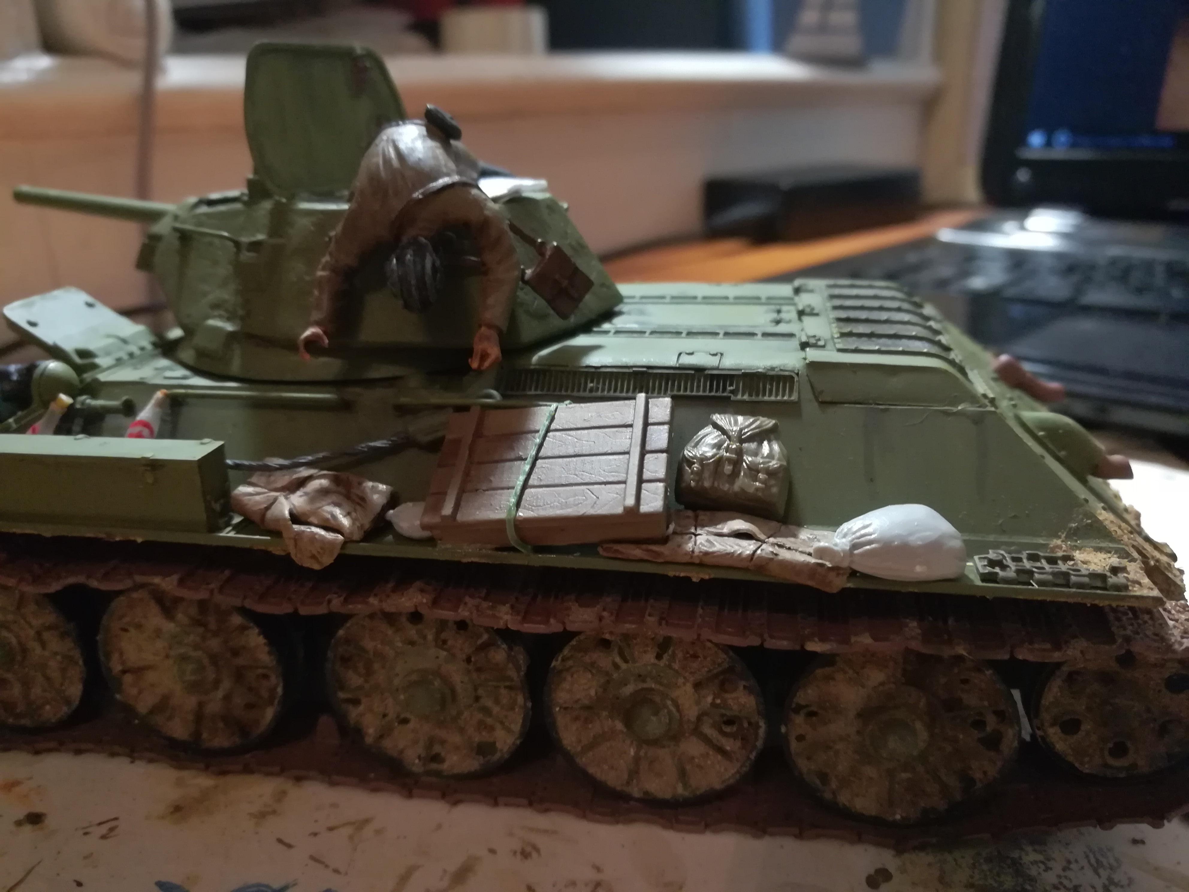 Front de l'Est, 1942 - T34 et Wehrmacht - Zvezda - 1/35 756575IMG20171112180507