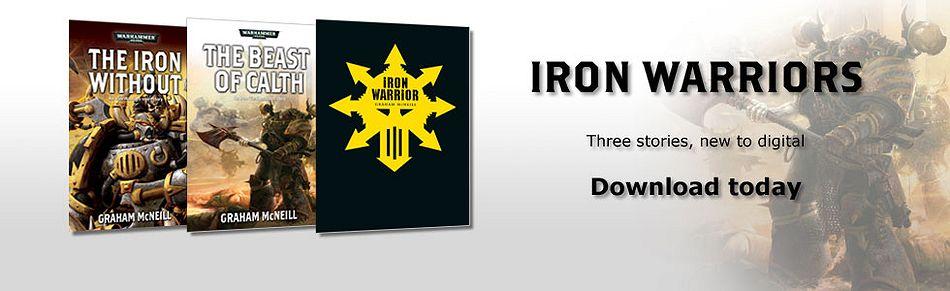 Iron Warriors: The Omnibus de Graham McNeill 760198ironwarriorshorts