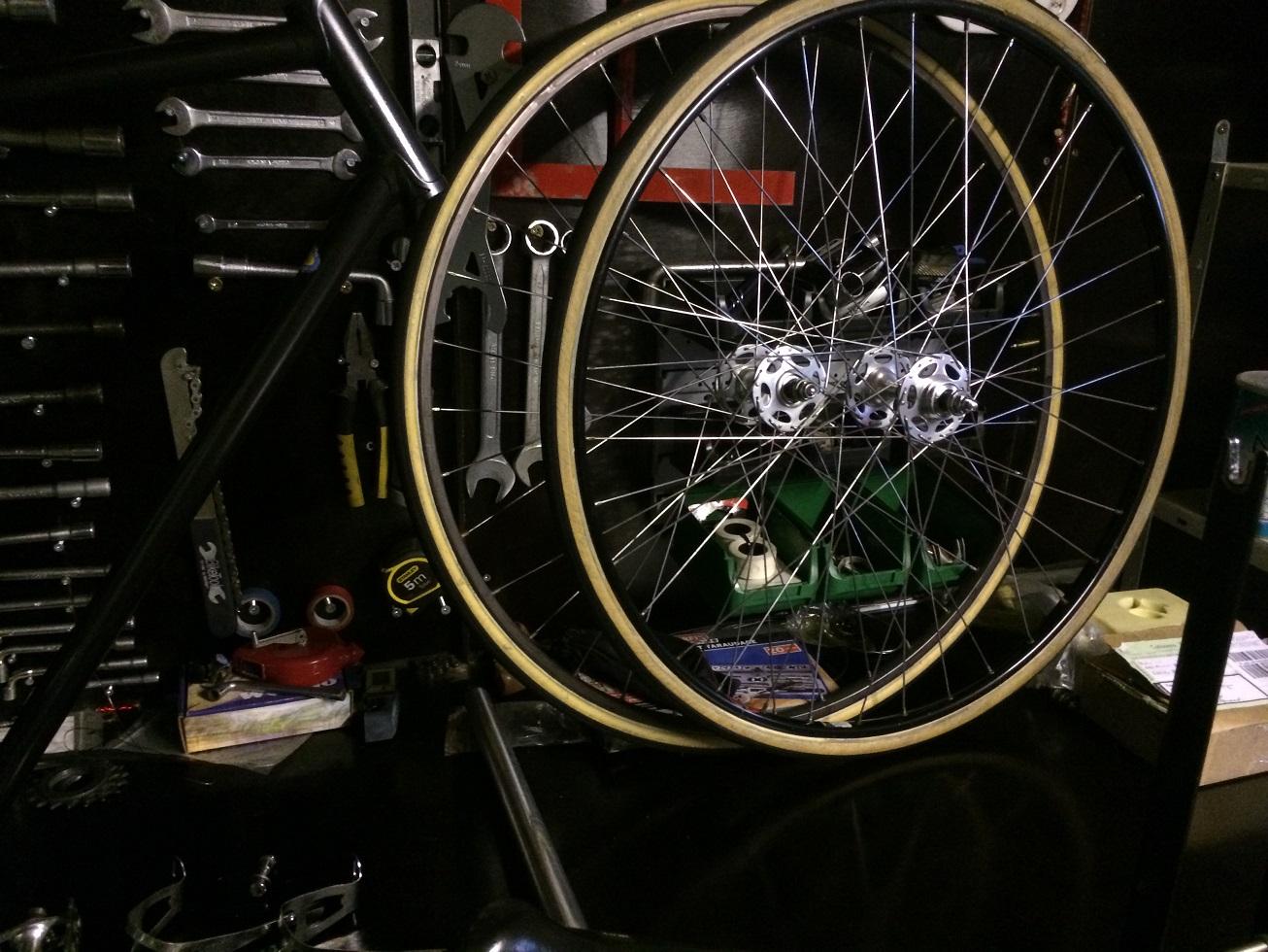 Vélo de piste Jean Marie Brun Tubes Columbus 761974IMG2485