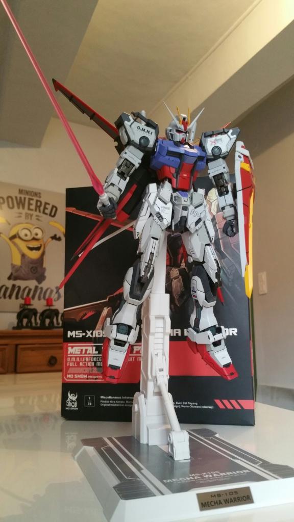 Review/Edito : Strike Gundam Metal Build 1/72 by Moshow la leçon Chinoise donnée a Bandai  762513201610061457521