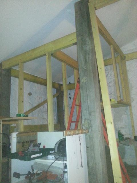 La construction de mon bloc dans le garage 7646996416