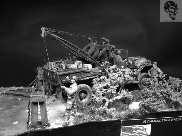 Diamond T969 wrecker - Mirror Model 1/35 765661IMG5157